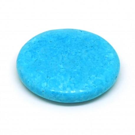 Turquoise, Pierre plate, à l'unité