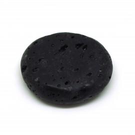 Lave noire, Pierre plate, à l'unité