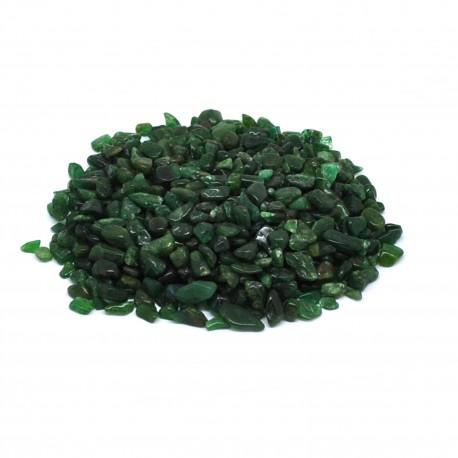 Aventurine verte, morceaux taille XXS, par 100 grammes