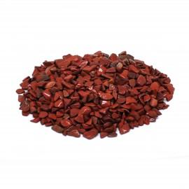 Jaspe rouge, morceaux taille XXS, par 100 grammes