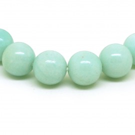 Bracelet perles 12 mm, Amazonite