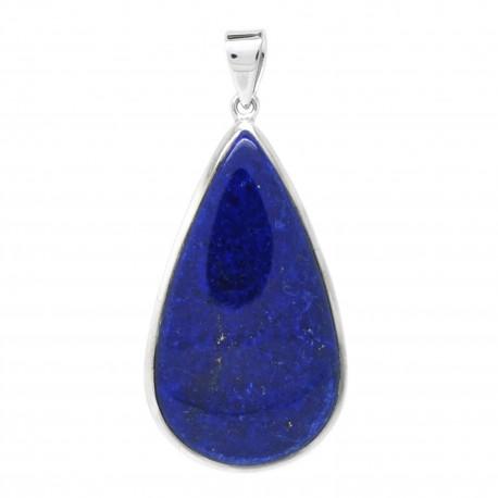 Lapis lazuli sur Argent, Pièce unique