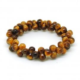 Perles d'oeil de tigre, Bracelet ADN