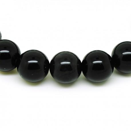 Bracelet perles 12mm, Œil céleste