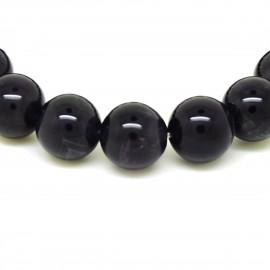Bracelet perles 12mm, Améthyste