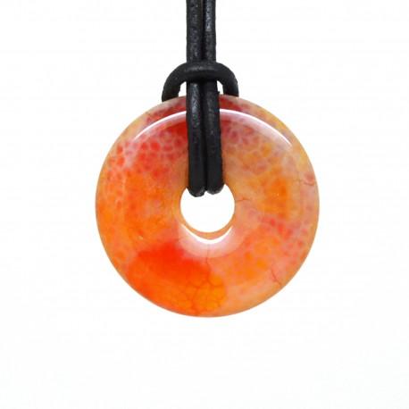 Minéraux 1 Pierre roulée en Agate mousse multicolore 20//30mm Lithothérapie
