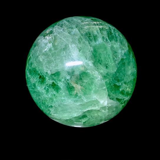 Sphère, Fluorite, 65 mm