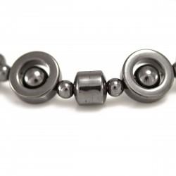 Bracelet Pierre, Sphères d'Hématite